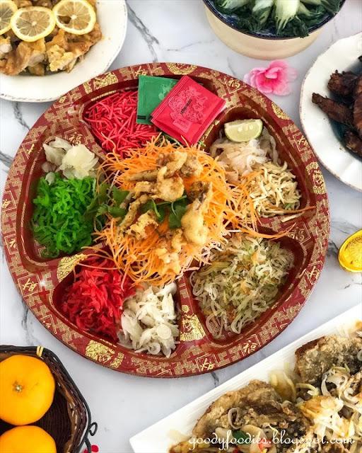 Dorsett Grand Subang CNY 2021 Yee Sang