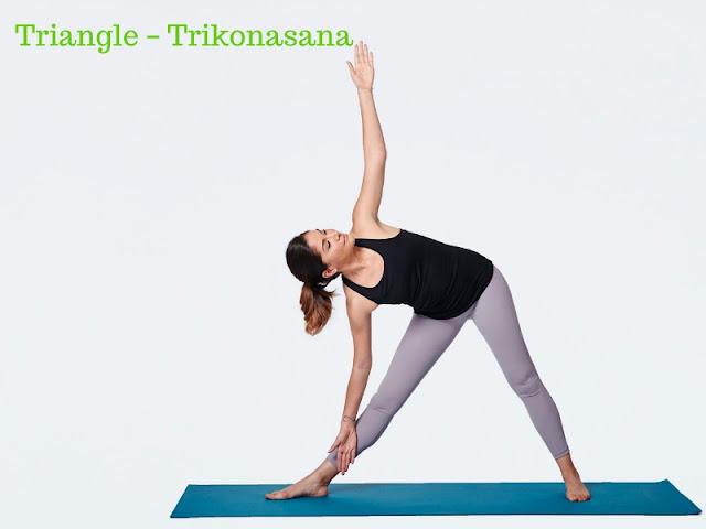 Triangle – Trikonasana