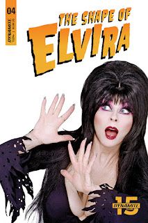Cover D for The Shape of Elvira #4 from Dynamite Entertainment