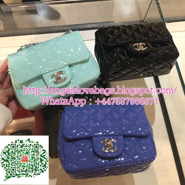 Chanel Classic Baby Flap Bag Mini Square