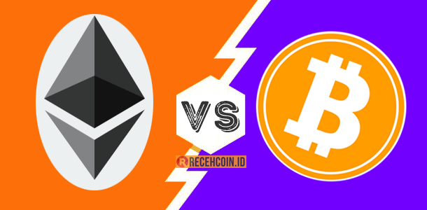 apa beda bitcoin dan ethereum