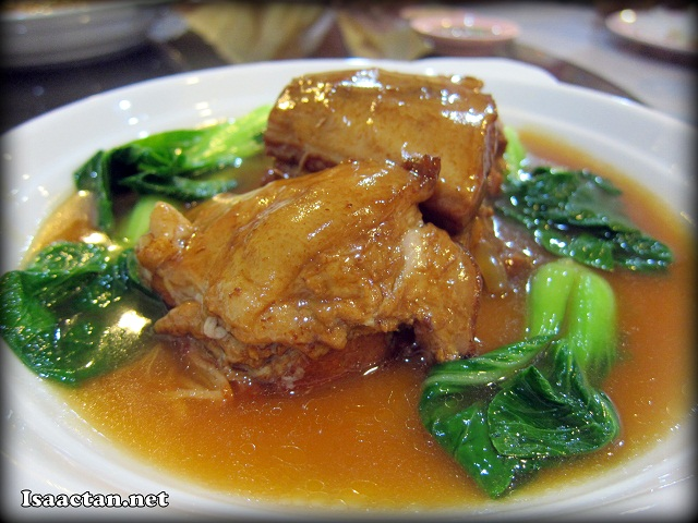 Stewed Pork Ribs with Special Sauce - RM18