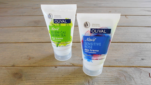 Art of Beauty: Olival Natural deo kreme - ruža i zeleni čaj