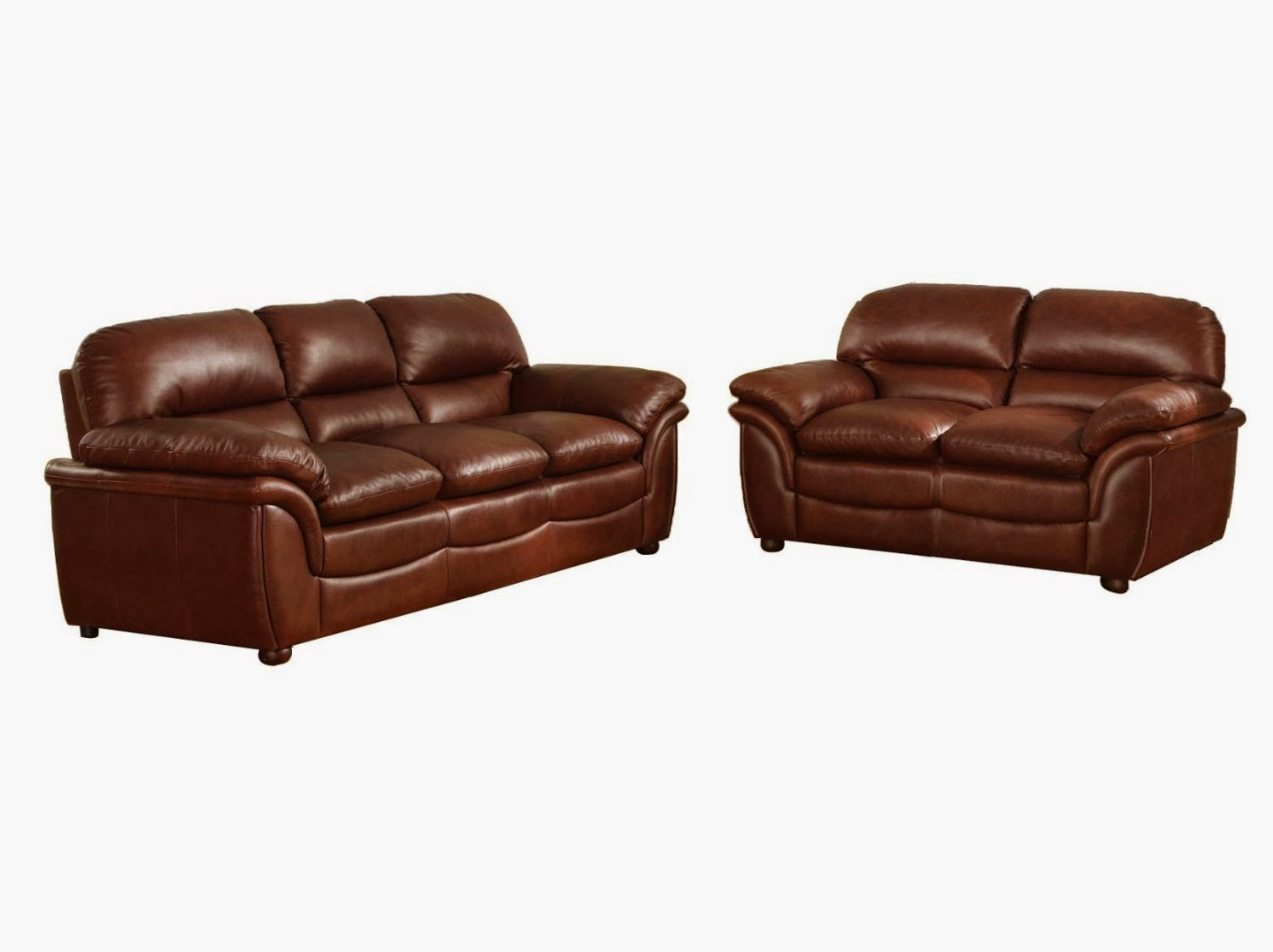The best reclining sofas ratings reviews brown leather for Couch sofa set
