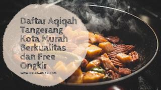 catering aqiqah terdekat