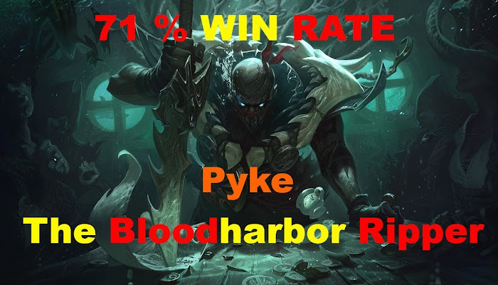71 % WIN RATE | Pyke - S + | League of Legends | LoL| amigo681 *BoMb
