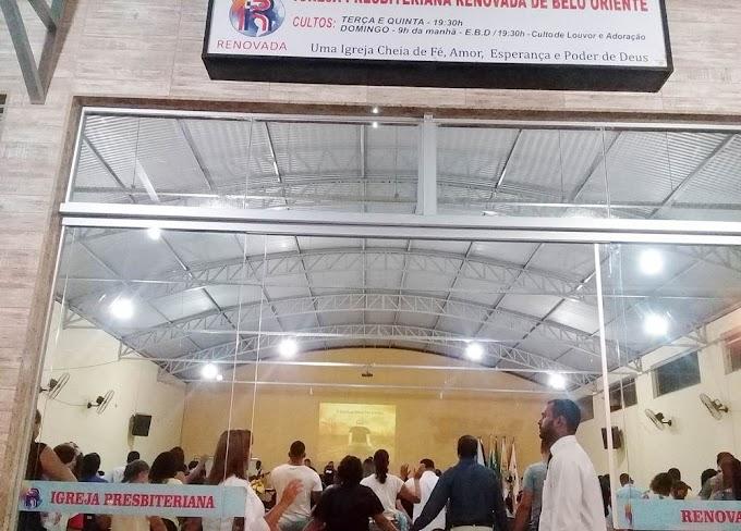 Em Belo Oriente: Igreja Presbiteriana Renovada realiza Grande Vigília nesta sexta-feira