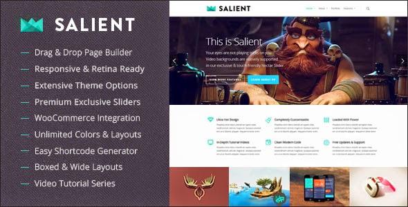 Download Free Salient v5.2.2 Responsive Multi-Purpose WordPress Theme
