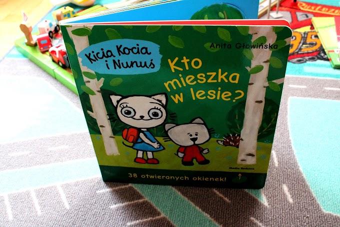 #122 Kicia Kocia i Nunuś. Kto mieszka w lesie?