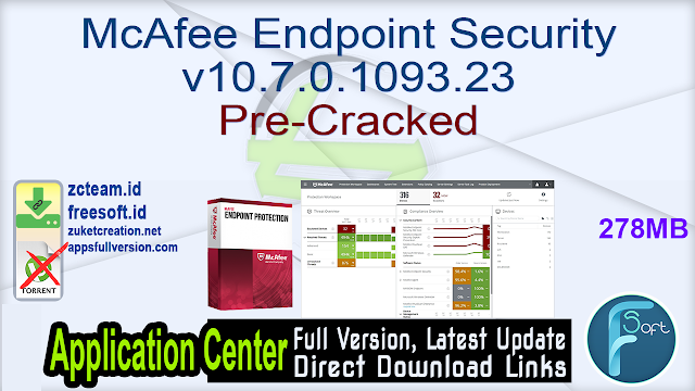 McAfee Endpoint Security v10.7.0.1093.23 Pre-Cracked_ ZcTeam.id
