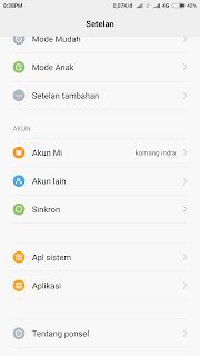 Cara sembunyikan foto atau video tanpa aplikasi di android