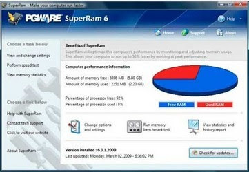 Download Premiun PGWare SuperRam 7.3.27 Full Version Gratis Dari Berga