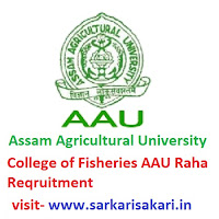 College of Fisheries AAU Raha Reqruitment