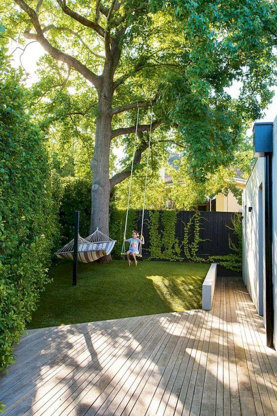 Small Garden and Landscaping Design for Small Backyard Idea
