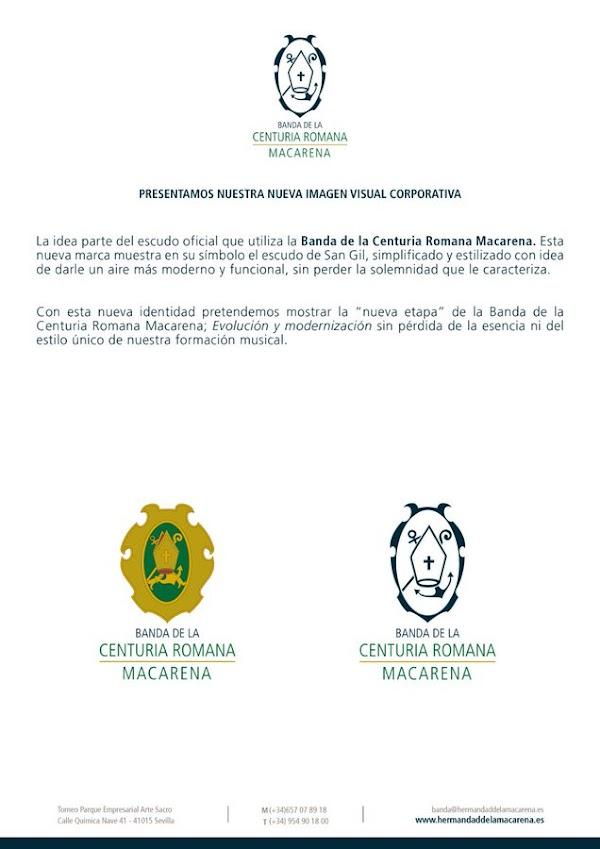 La nueva imagen corporativa de la Banda de la Centuria de Sevilla