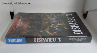 dispareo 1 book spine