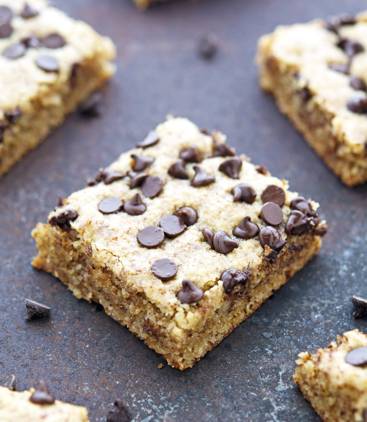 The Iron You: (Paleo) Chocolate Chip Cookie Squares