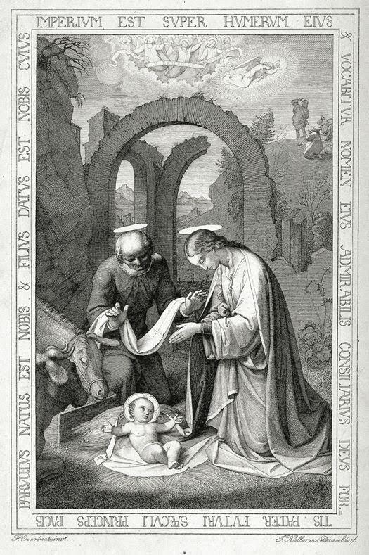Cristo nace en las ruinas