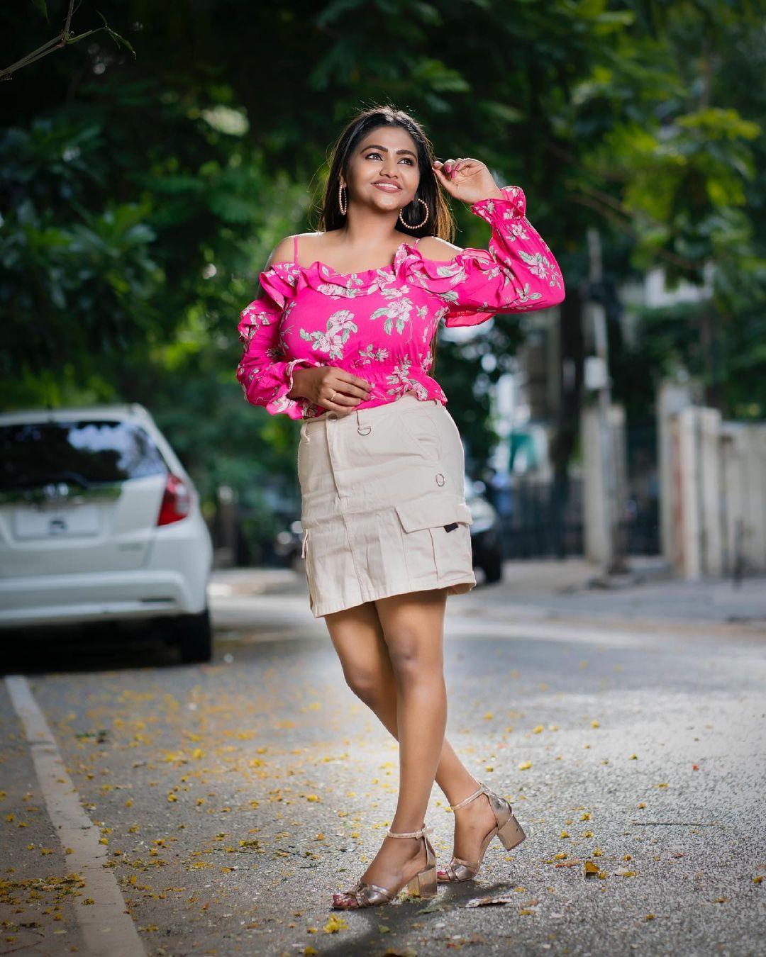 Actress Shalu Shamu Latest Photos & Stills