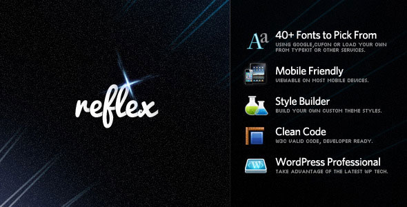 Reflex - Dynamic Grid Portfolio Free Download by ThemeForest.