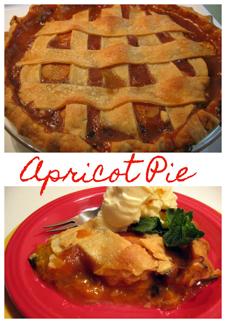Apricot Pie at Miz Helen's Country Cottage