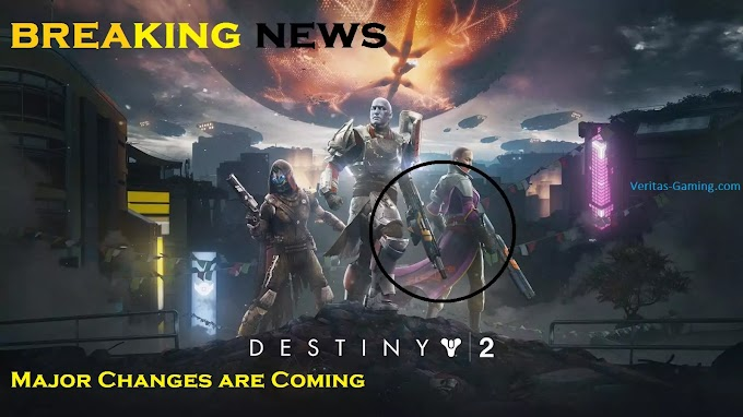 Destiny 2 NEWS Major Changes are Coming