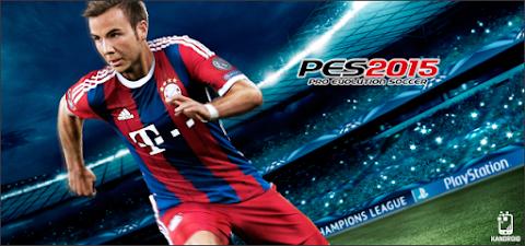 Pro Evolution Soccer 2015 Apk + Data - Android Download