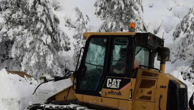 Μηχανήματα του Δήμου Άργους Μυκηνών επιχείρησαν σε ορεινά χωριά