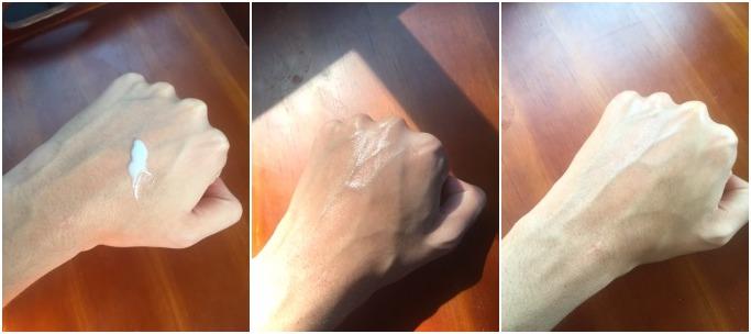 CeraVe PM lan ra rất nhanh, khi khô hoàn toàn không để lại dầu thừa và cảm giác ướt dính