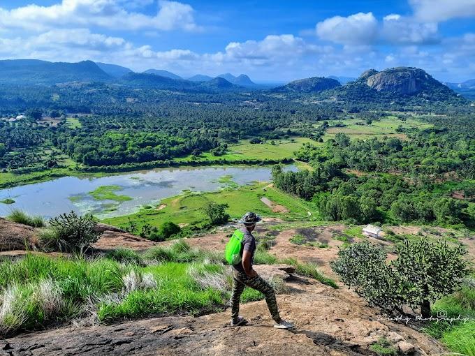 The Monsoon magic of Dodda Ramakallu Betta
