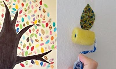 Como fazer adesivos de parede com tecidos