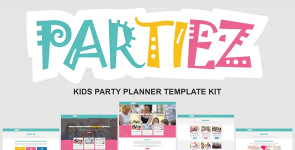 Best Kids Party Planner Template Kit