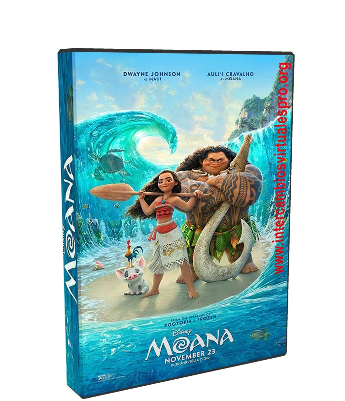 Moana poster box cover