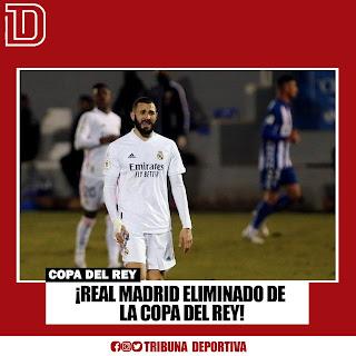 REAL MADRID ELIMINADO DE LA COPA DEL REY! 🇪🇸⚽️