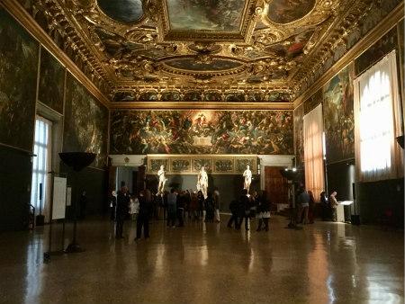 Venice, Italy - Sala dello Scrutinio, Palazzo Ducale Photo: Cat Bauer