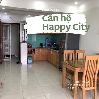 Căn hộ 2 phòng ngủ chung cư Happy City khu dân cư hạnh phúc