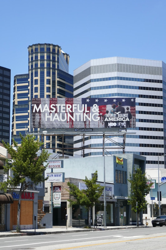 Plot Against America Emmy FYC billboard