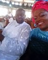 ACTRESS: FUNKLE AKNIDELE LOSE HER FATHER.