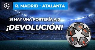 Paston champions Real Madrid vs Atalanta 16-3-2021