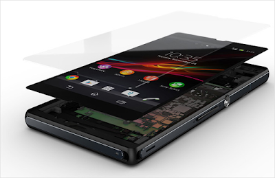 Thay mặt kính điện thoại Sony Z1