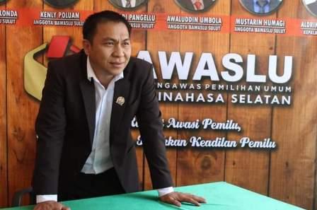 Bawaslu Minsel Ingatkan Panwascam Kecamatan dan Kelurahan Waspada Pelanggaran Gaya Baru