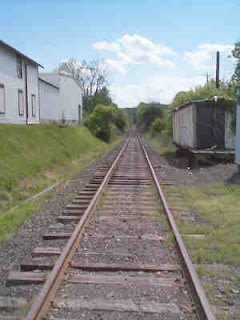 New Hope line tracks at Rushland