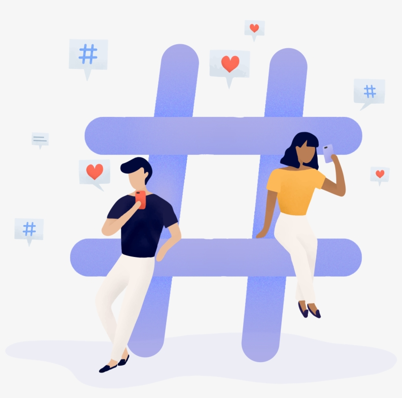 Think of Your Hashtags as SEO for Your Reels