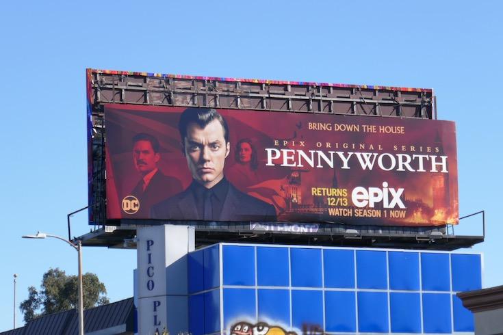 DC Pennyworth season 2 billboard