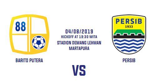 Barito Putera vs Persib Bandung - Liga 1 Minggu 4 Agustus 2019