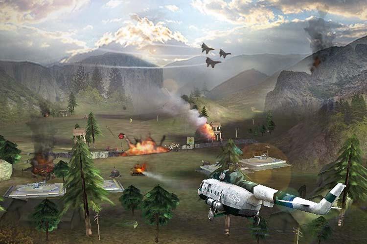 10 Game Perang Pesawat Offline dan Online di Android Terseru