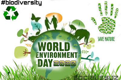"Theme of World Environment Day 2020 is ""Biodiversity"""