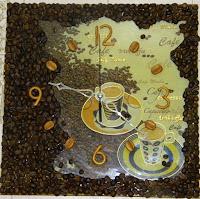 Время пить кофе! Кофейные часы своими руками. МК