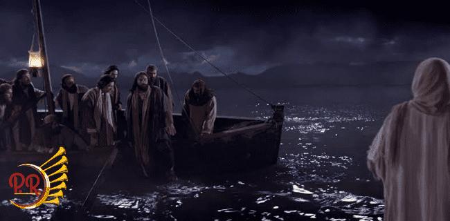 RECONHEÇA JESUS NAS SUAS TEMPESTADES