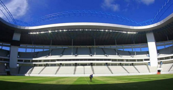 Stadion Batakan Gelar Pertandingan Uji Coba Malam ini